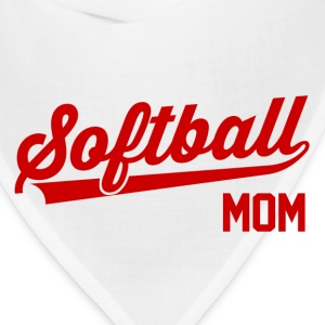 Softball Mom Women's T-Shirts - Bandana