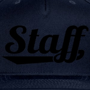 STAFF T-Shirts - Snap-back Baseball Cap