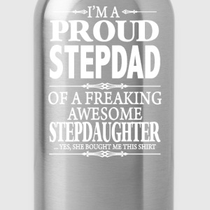 I'm A Proud Stepdad - Water Bottle