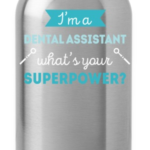 Dental Assistant Superpower Professions T Shirt T-Shirts - Water Bottle