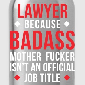 Badass Lawyer Professions Attorney T Shirt T-Shirts - Water Bottle
