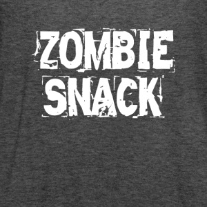 Zombie Snack FUNNY Women's T-Shirts - Women's Flowy Tank Top by Bella