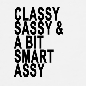 classy_sassy_and_a_bit_smart_assy_funny_ - Men's Premium T-Shirt