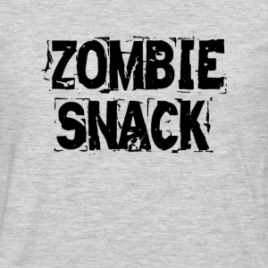 Zombie Snack FUNNY Women's T-Shirts - Men's Premium Long Sleeve T-Shirt