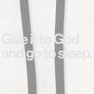 GIVE IT TO GOD - AND GO ASLEEP Baby & Toddler Shirts - Contrast Hoodie