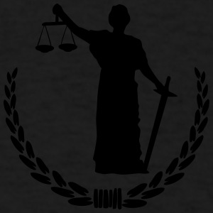 Lady Justice Tanks - Men's T-Shirt
