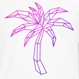 Neon palm tree - Men's Premium Long Sleeve T-Shirt