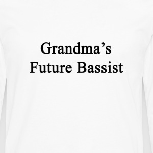 grandmas_future_bassist T-Shirts - Men's Premium Long Sleeve T-Shirt