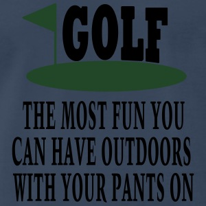 Golf Fun  - Men's Premium T-Shirt