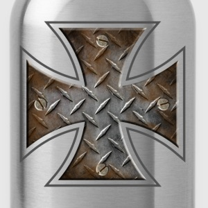 iron cross.png T-Shirts - Water Bottle