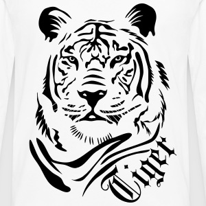 Tiger Polo Shirts - Men's Premium Long Sleeve T-Shirt