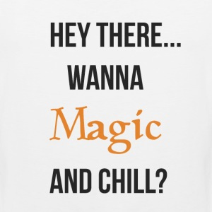 Magic and chill (neutral) T-Shirts - Men's Premium Tank