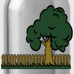 garden tree T-Shirts - Water Bottle
