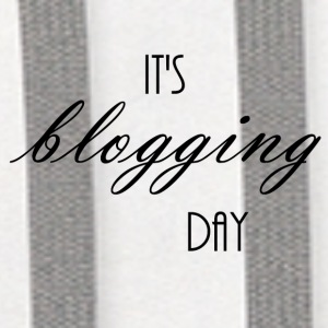It's blogging day - Contrast Hoodie