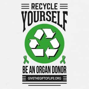 recycle yourself organ donation  Accessories - Men's Premium T-Shirt