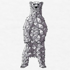 Geometric Polar Bear Mugs & Drinkware - Men's T-Shirt
