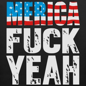 Merica fuck yeah Women's T-Shirts - Eco-Friendly Cotton Tote