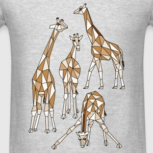 Geometric Giraffes  Tanks - Men's T-Shirt