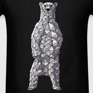Geometric Polar Bear Tanks - Men's T-Shirt