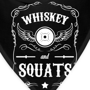 Whiskey and Squats T-Shirts - Bandana