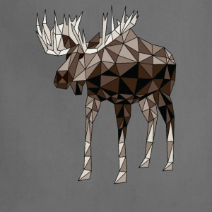 Geometric Moose Hoodies - Adjustable Apron