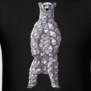 Geometric Polar Bear Hoodies - Men's T-Shirt