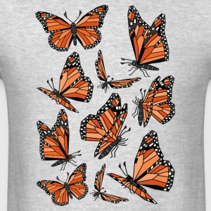 Geometric Monarch Butterfly  Sportswear - Men's T-Shirt