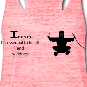 health and weldness tee - Women's Flowy Tank Top by Bella