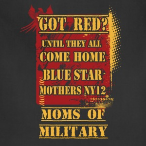 Military/Mom - Got Red? - Adjustable Apron