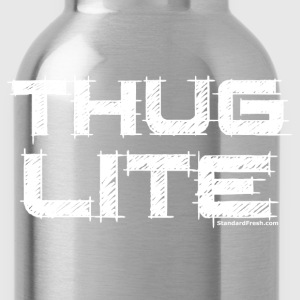 Thug Lite WHT.png T-Shirts - Water Bottle