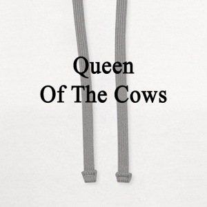 queen_of_the_cows Women's T-Shirts - Contrast Hoodie