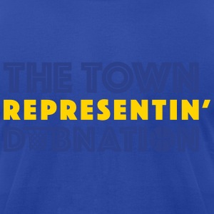 The Town DubNation Fan Hoodies - Men's T-Shirt by American Apparel