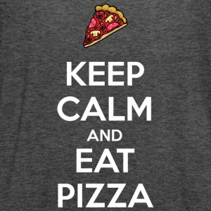 Keep Calm and Eat Pizza 2 Women's T-Shirts - Women's Flowy Tank Top by Bella