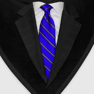 Suit and Tie Real Blue T-Shirts - Bandana