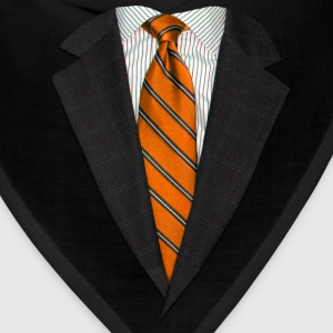 Orange Suit and Tie Kids' Shirts - Bandana
