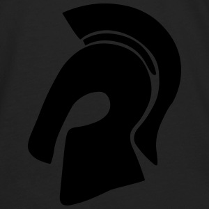 Trojan Helmet Hoodies - Men's Premium Long Sleeve T-Shirt
