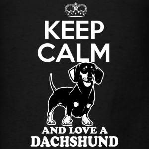 Dachshund dog Hoodies - Men's T-Shirt