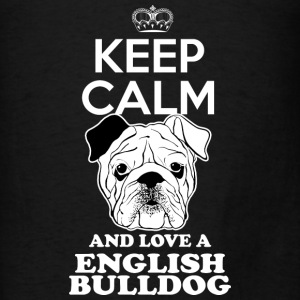 Englishbulldog Hoodies - Men's T-Shirt