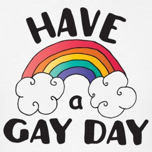Have A Gay Day LGBT Pride Sportswear - Men's T-Shirt