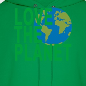 love_the_planet_ - Men's Hoodie
