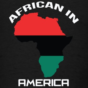 LocStar Revolution RBG African in America - Men's T-Shirt