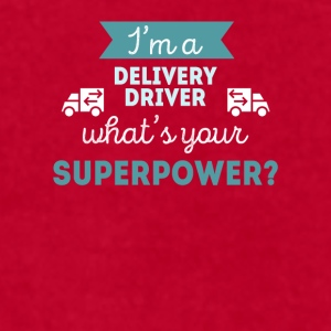 Delivery Driver Superpower Professions T-shirt Mugs & Drinkware - Men's T-Shirt by American Apparel