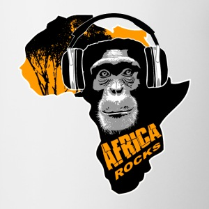 chimpanzee - Africa rocks T-Shirts - Coffee/Tea Mug