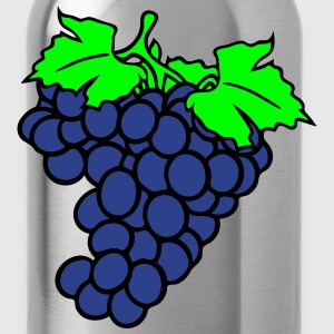 grapes grape harvesting tasty wine T-Shirts - Water Bottle