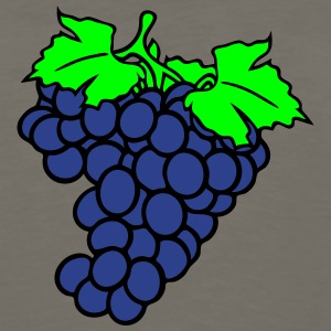 grapes grape harvesting tasty wine T-Shirts - Men's Premium Long Sleeve T-Shirt