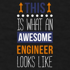 Awesome Engineer Professions Engineering  T-shirt Mugs & Drinkware - Men's T-Shirt