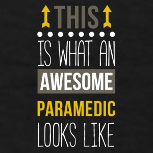 Awesome Paramedic Professions T-shirt Mugs & Drinkware - Men's T-Shirt
