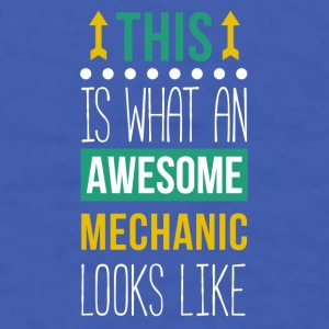 Awesome Mechanic Professions T-shirt Mugs & Drinkware - Men's T-Shirt