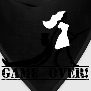 game over bride and groom Sportswear - Bandana