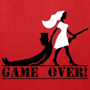 game over bride and groom Sportswear - Tote Bag